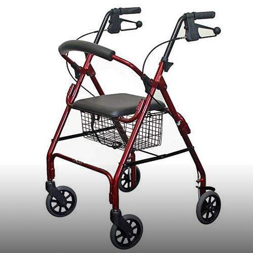 Mobility Assessments - Four Wheeled Walker