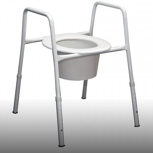 Assistive Equipment - Over toilet frame